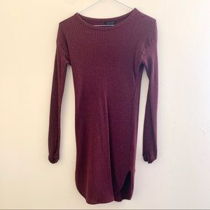 Topshop Sweater Dress